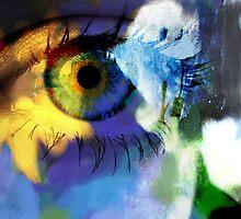 Sunflower eye by Marlies Odehnal