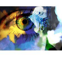Sunflower eye Photographic Print