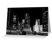 City signature - Chicago, IL Greeting Card