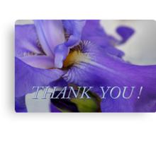iris thank you Metal Print