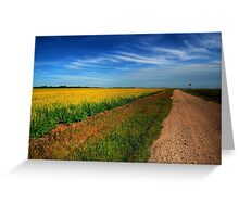 Canola Country Greeting Card