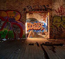 rotten cotton mill by J.K. York