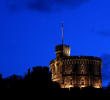 Windsor castle at dusk by Doug McRae