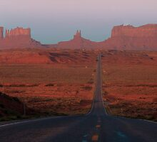 Mile 13 Marker Monument Valley by Sam Tabone