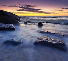 Hallet Cove Sunset by Bill  Robinson