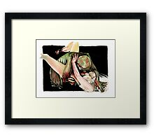 Eat Me: Bite Framed Print