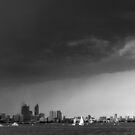 Storm Front - Swan River, Perth. by BaliBuddha
