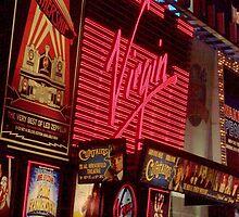 Times Square Night by Debbi Granruth