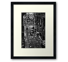 You take me to all the best places, dear Framed Print