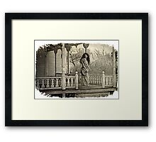 The Front Porch... Framed Print