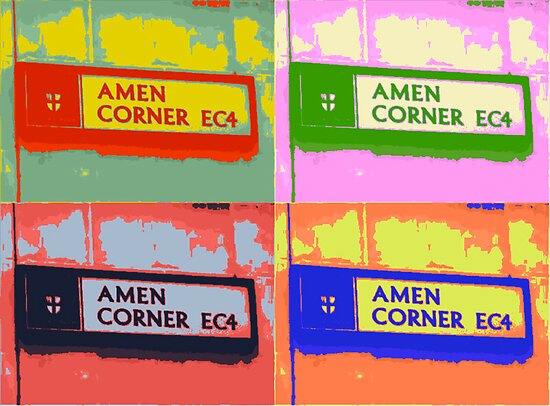 Amen Corner EC4 by Lisa Hafey
