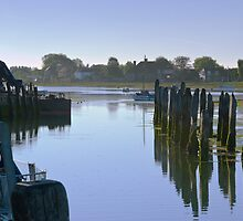 Bosham Quay Chichester Harbour  by Jim Hellier