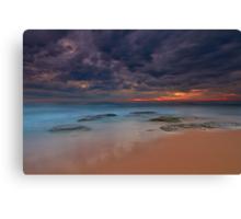 Shelly Beach  Canvas Print