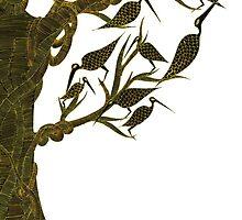 Oiseaux sepia | Sepia bird by meoise