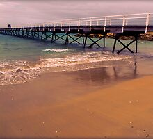Beachport Jetty by Courtney McIntyre
