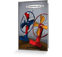 Always A Sox Fan by Londons Times Cartoons Greeting Card