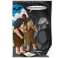 Caveman Inventions by Londons Times Cartoons Poster