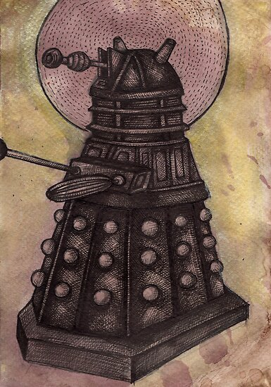 The Dalek by Lynnette Shelley
