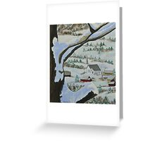 East Orange Vermont Greeting Card