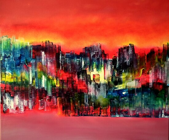 City of colours and lights by david hatton