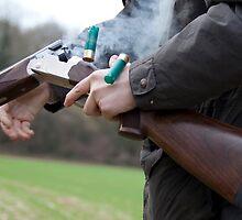 Gun in action by Nigel Kenny