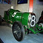 No. 8, Green Racer, (1922 Aston-Martin) by Woodie