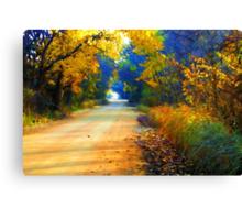 Barefoot Lane Canvas Print