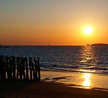 Relaxing sunset by Fabio Procaccini