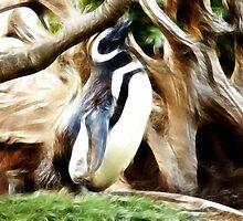 Penguin Alcove: by Cherubtree