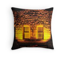 Boskos • Pasta & Pizza • 1888? Calistoga, California Throw Pillow