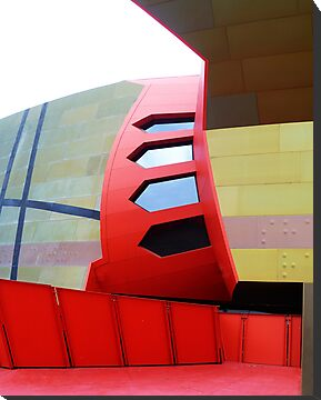 Futuristic Facade - National Museum of Australia by TonyCrehan