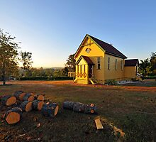 The Old Church Of Samford, Queensland, Australia. by Ralph de Zilva