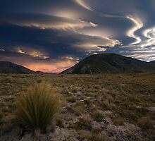 Magical Clouds at Lake Tennyson by Francis Carmine