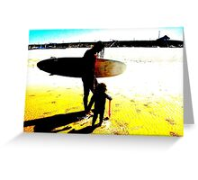 Surf Generations Greeting Card