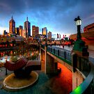 Southbank by Night by Matt Haysom
