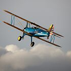 PT13-D Stearman biplane by Tony Roddam