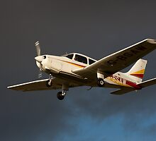 A PA 28 in flight by Tony Roddam