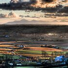 View of the Mourne Mountains From Scrabo. by Jonny Andrews