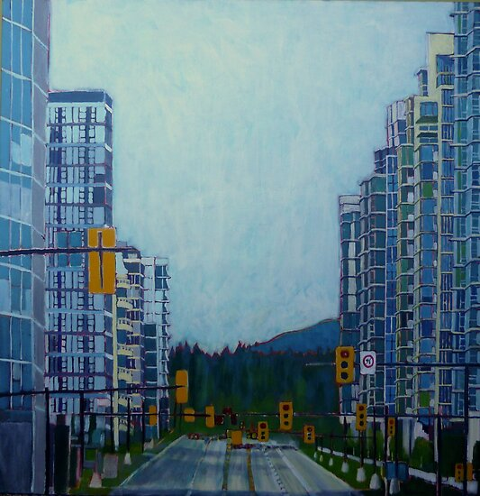 From Vancouver to the mountains by Sandrine Pelissier