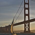 Golden Gate Sailing... by Bob Moore