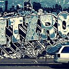 Melbourne Graffiti - Fitzroy by Dovers
