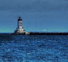 Angels Gate Lighthouse by Stephen Burke