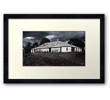 The Old Barn Framed Print