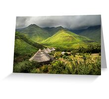 Ahhh, but Africa is beautiful.... Greeting Card