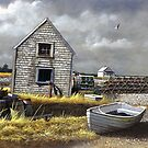 &quot;Dark Skies Over Pembroke&quot; by Frank Boudreau