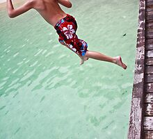 the jump - langkawi marine park by Tashique Alam