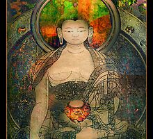 Bodhisattva by linaji-cards