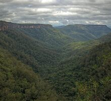 Kangaroo Valley, NSW, Australia  HDR) by Adrian Paul