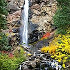 Treasure Falls in Autumn color by Klaus Girk