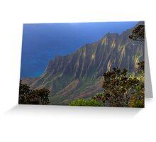 Kalalau Valley (Kauai, Hawaii) Greeting Card